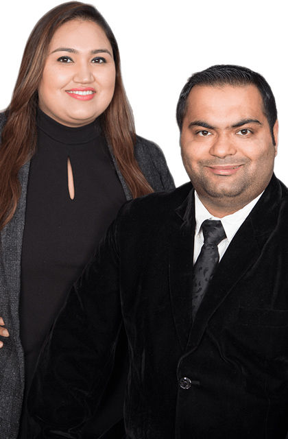 Preena Nagpal and Gaj Singh