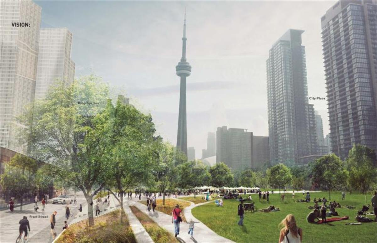 Toronto signals plan to expropriate airspace above proposed Rail Deck Park