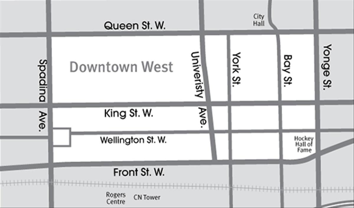 Toronto Neighbourhoods xx Downtown West xx