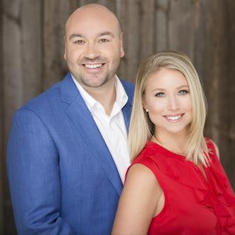Josh Lumsden and Carley Stenson